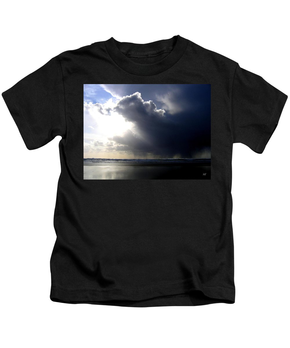 Squall Kids T-Shirt featuring the photograph Sudden Squall by Will Borden