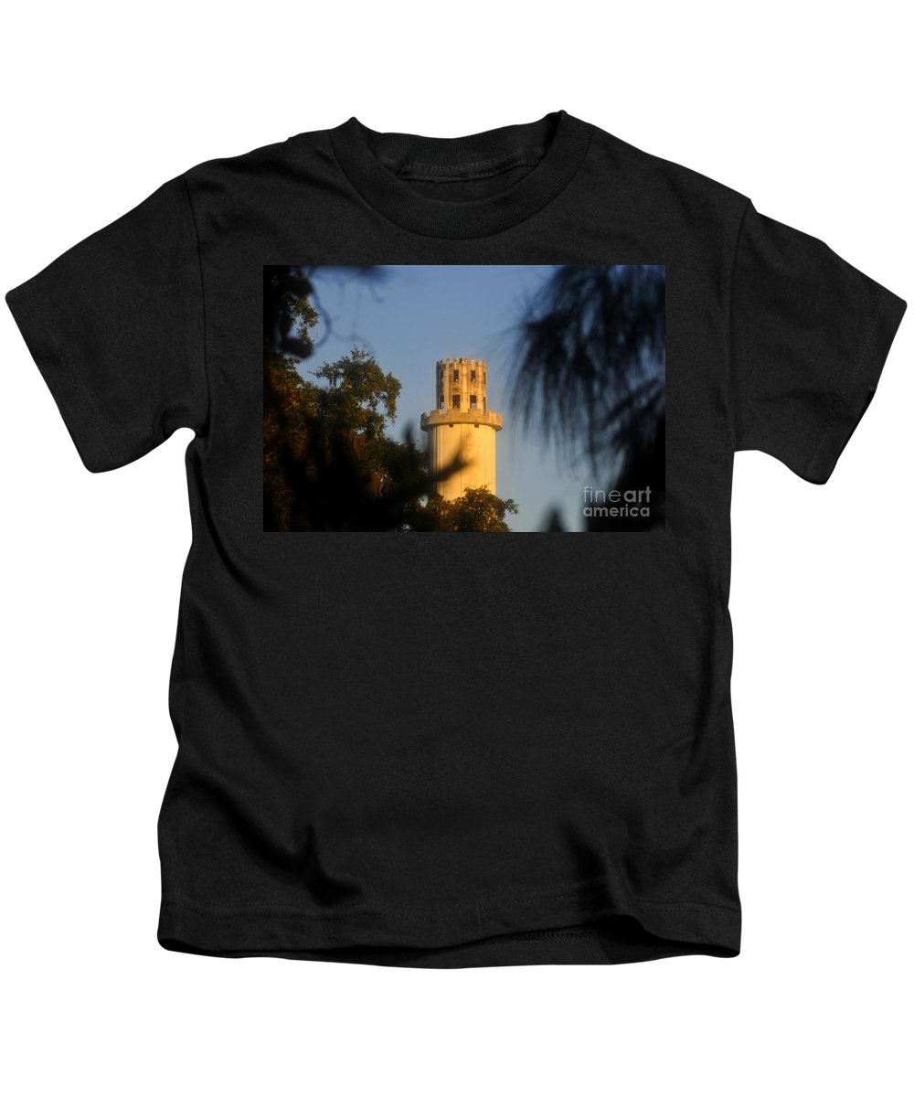 Sulphur Springs Florida Kids T-Shirt featuring the photograph Sulphur Springs Tower by David Lee Thompson
