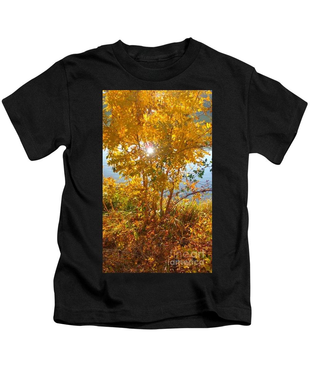 Kids T-Shirt featuring the photograph Sun Warmth by Alexandra Felecan