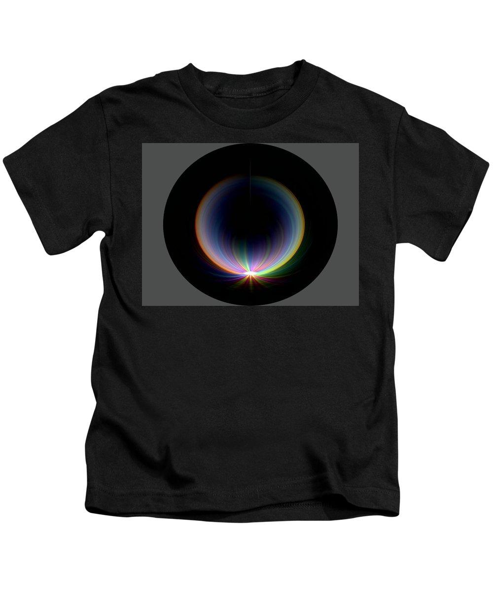 Sunrise Kids T-Shirt featuring the digital art Sunrise At 30k 1 by Tim Allen