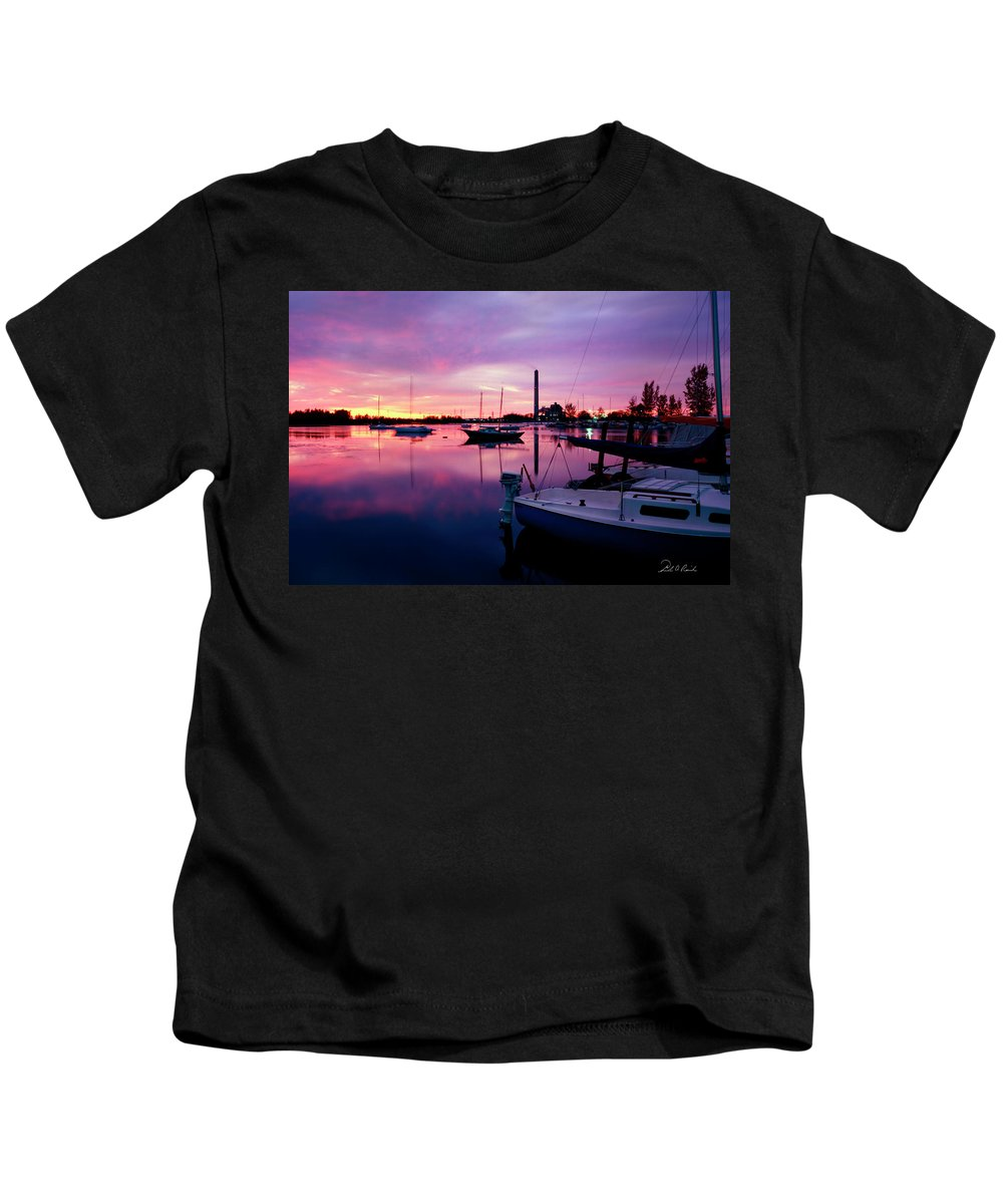 Sunrise Kids T-Shirt featuring the photograph Sunrise Bc Cobb Plant by Frederic A Reinecke