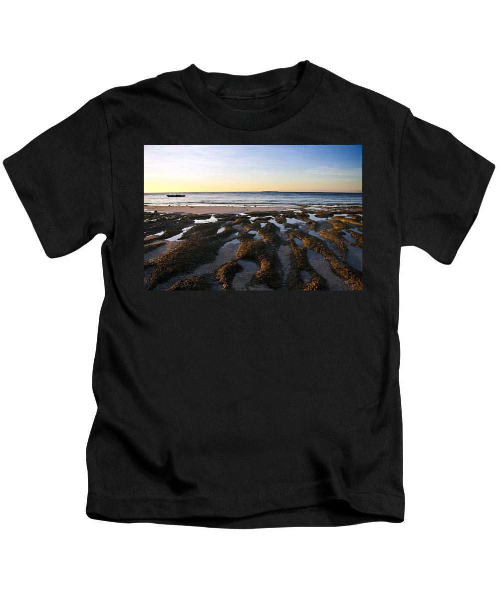 Nature Kids T-Shirt featuring the photograph Sunrise In Bohol by George Cabig