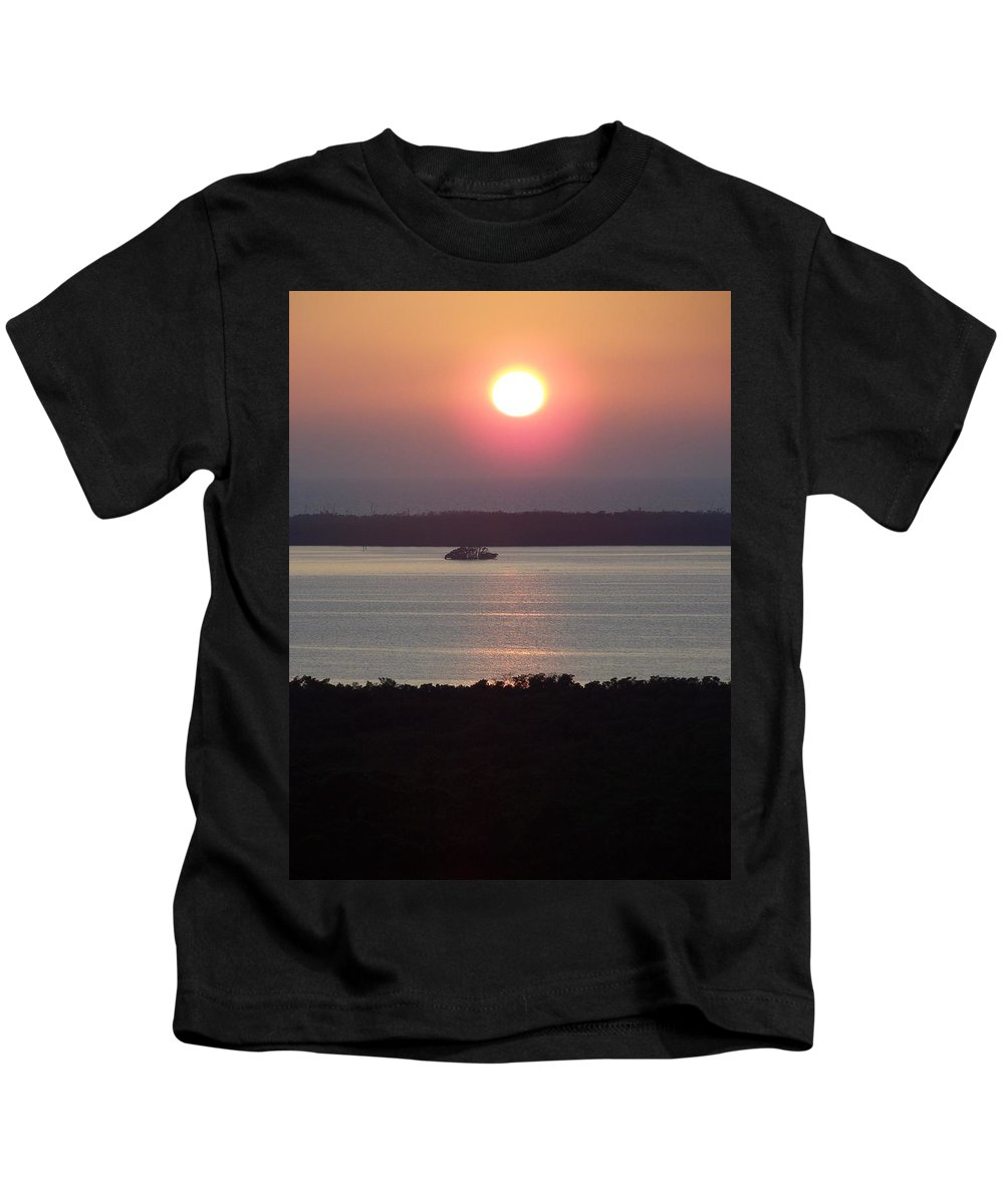 Sunset Kids T-Shirt featuring the photograph Sunset 0009 by Laurie Paci