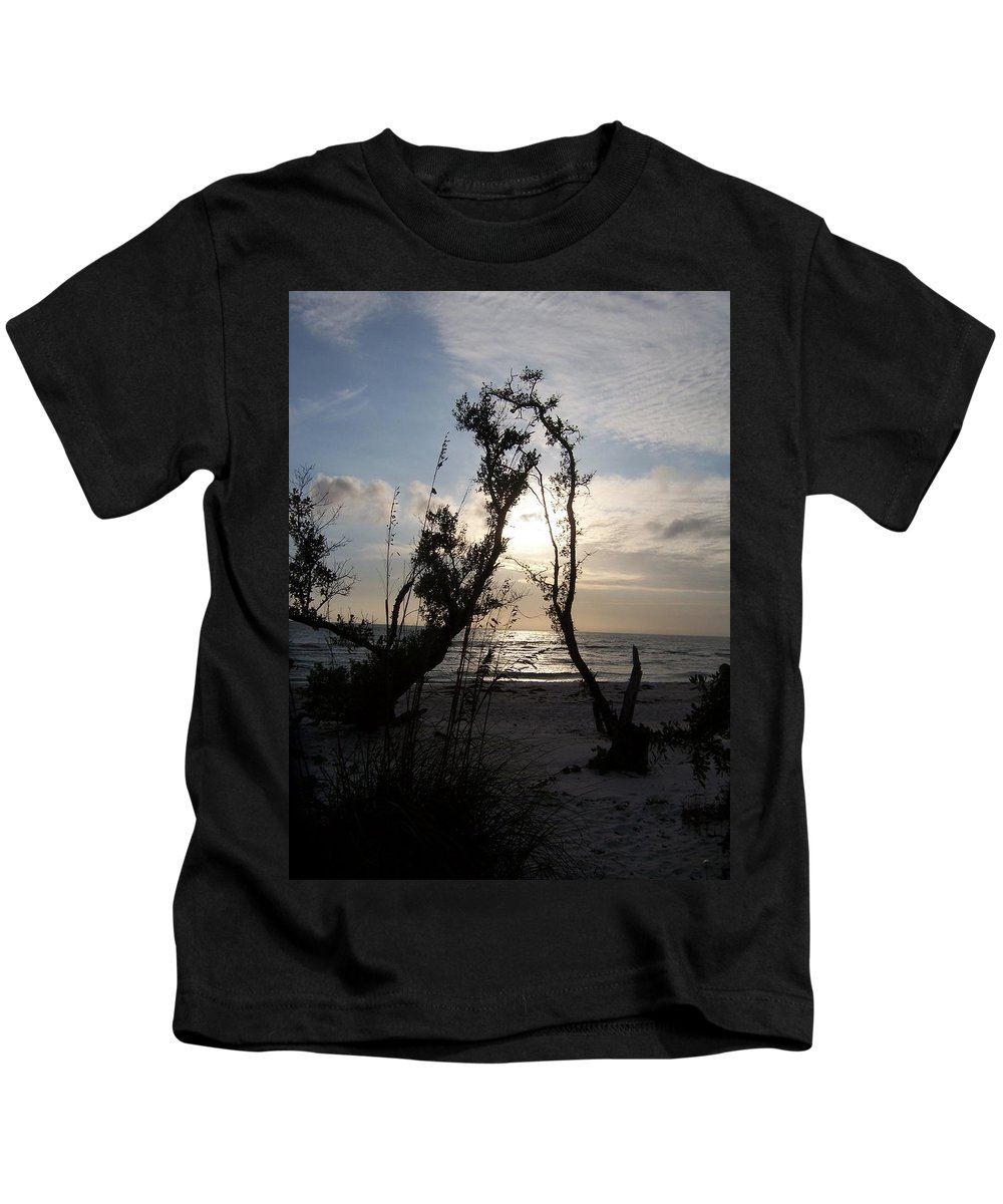 Sunset Kids T-Shirt featuring the photograph Sunset 0027 by Laurie Paci