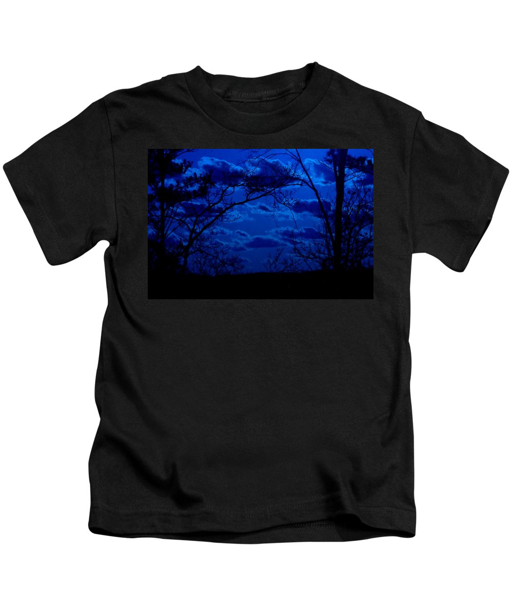 Night Kids T-Shirt featuring the photograph sunset over Suwanee 2009 by David Campbell