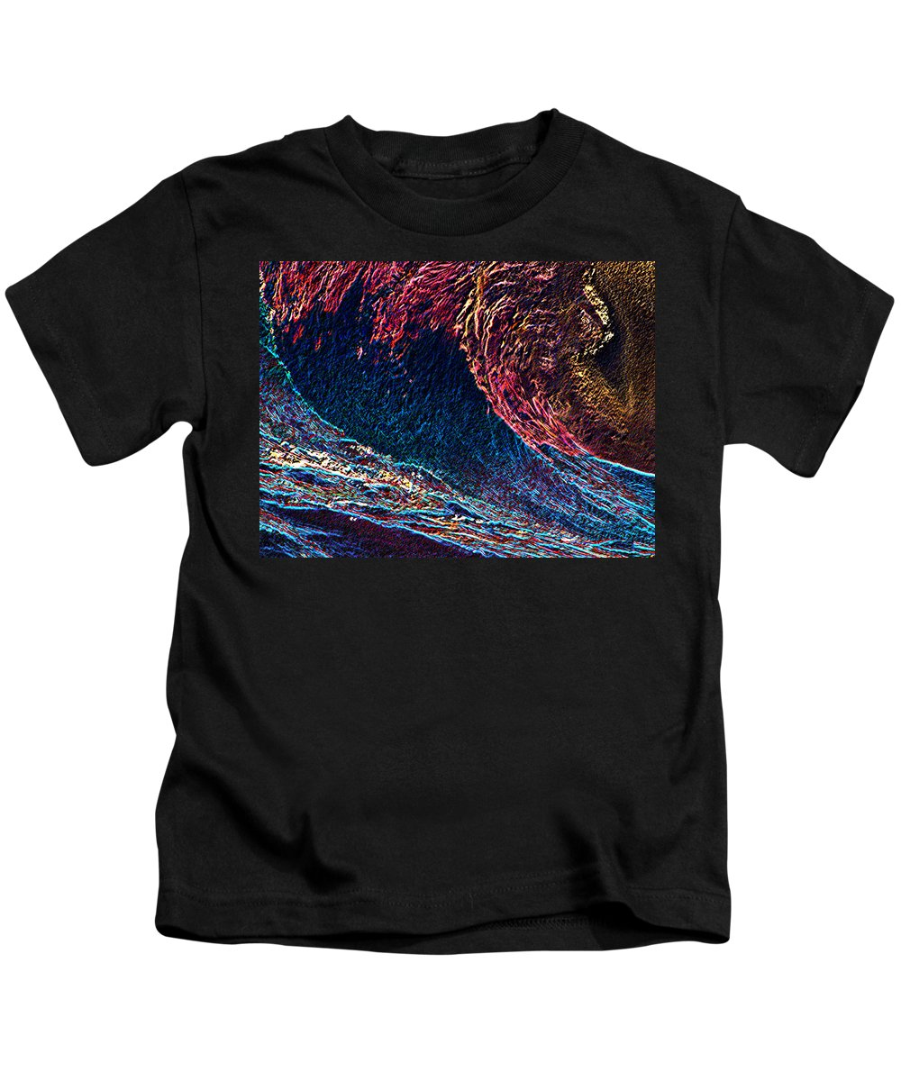 Surfs Up Kids T-Shirt featuring the photograph Surfs Up 4 by Tim Allen