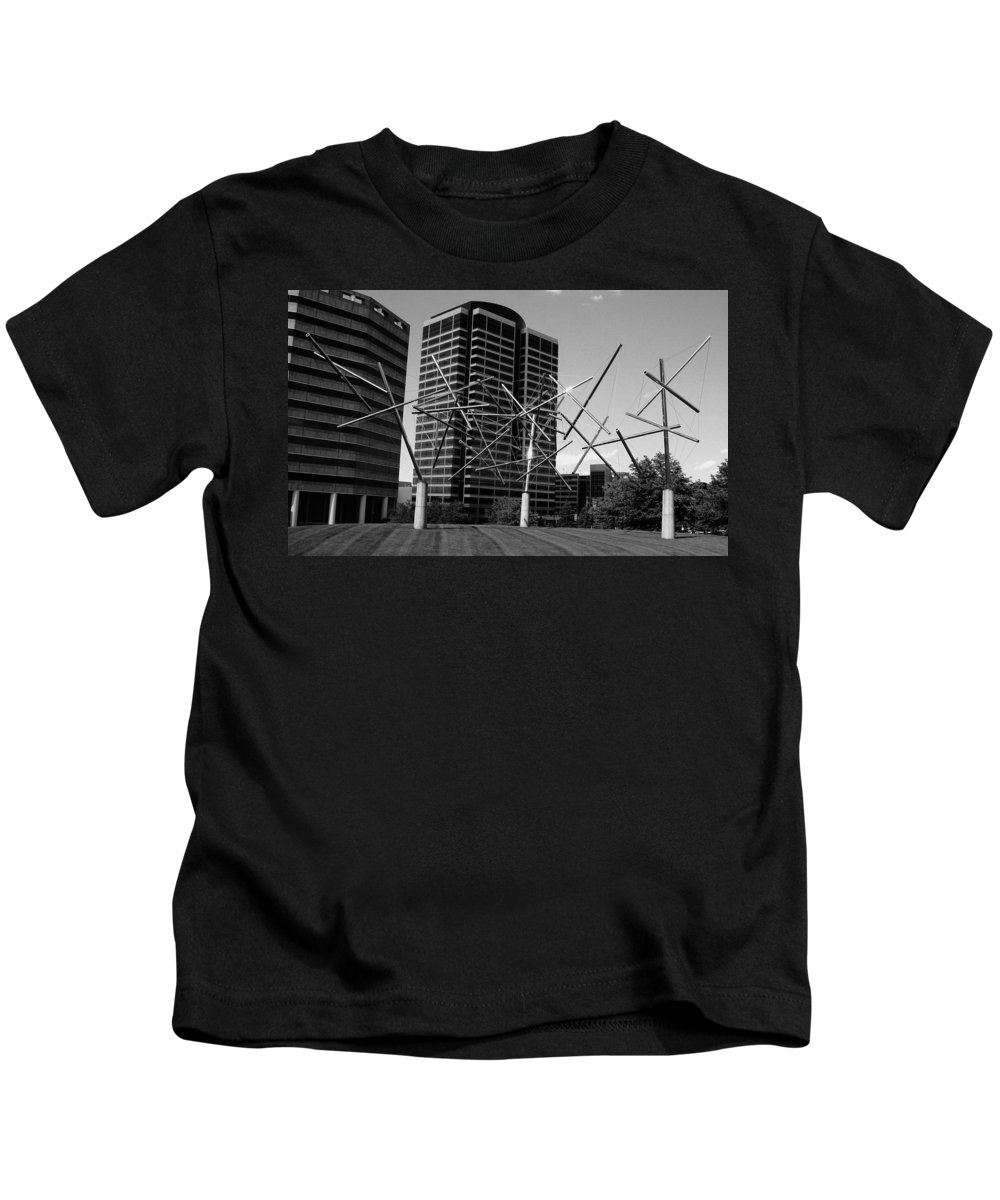 Metal Kids T-Shirt featuring the photograph Suspended by Angus Hooper Iii