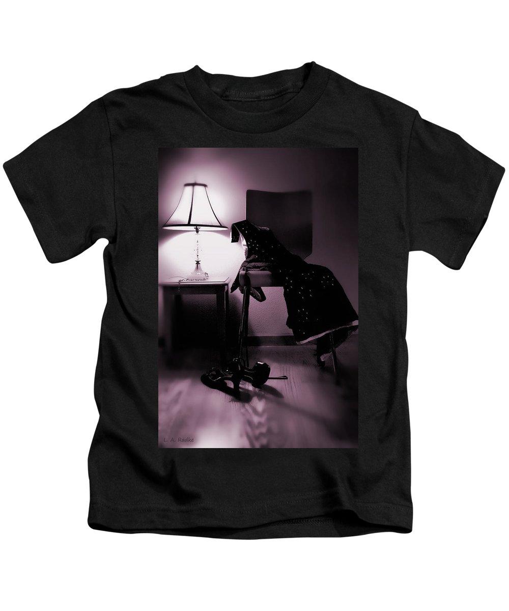 Still Life Kids T-Shirt featuring the photograph Sweet Dreams by Lauren Radke