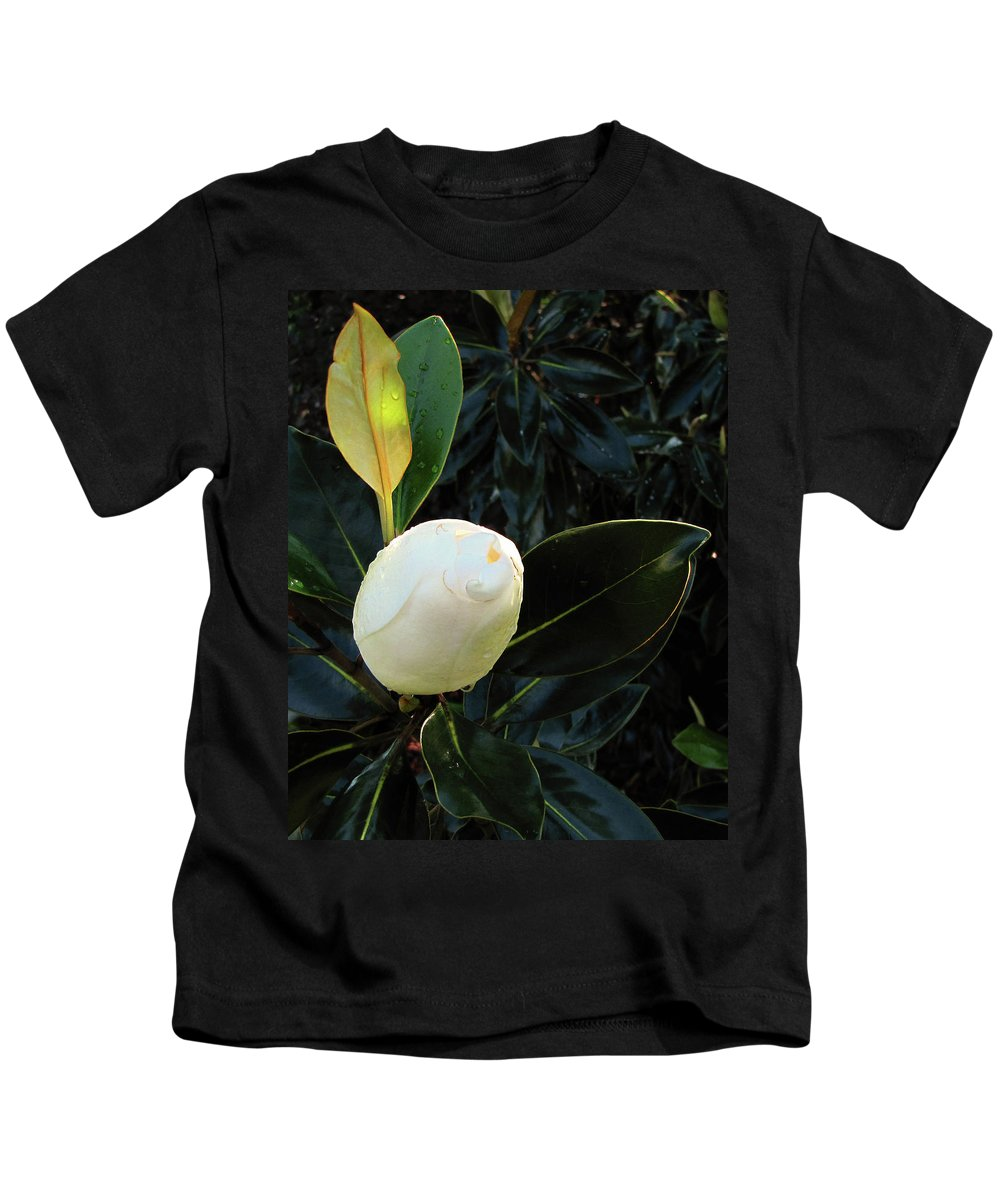Nature Kids T-Shirt featuring the photograph Sweet Promise by Peg Urban