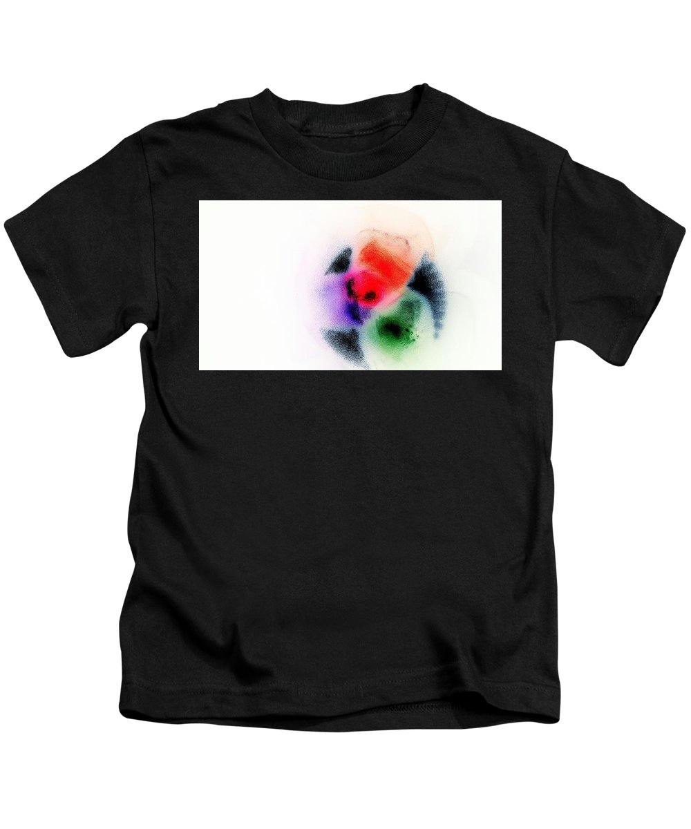 Abstract Kids T-Shirt featuring the photograph Synergy by Taina Hernandez