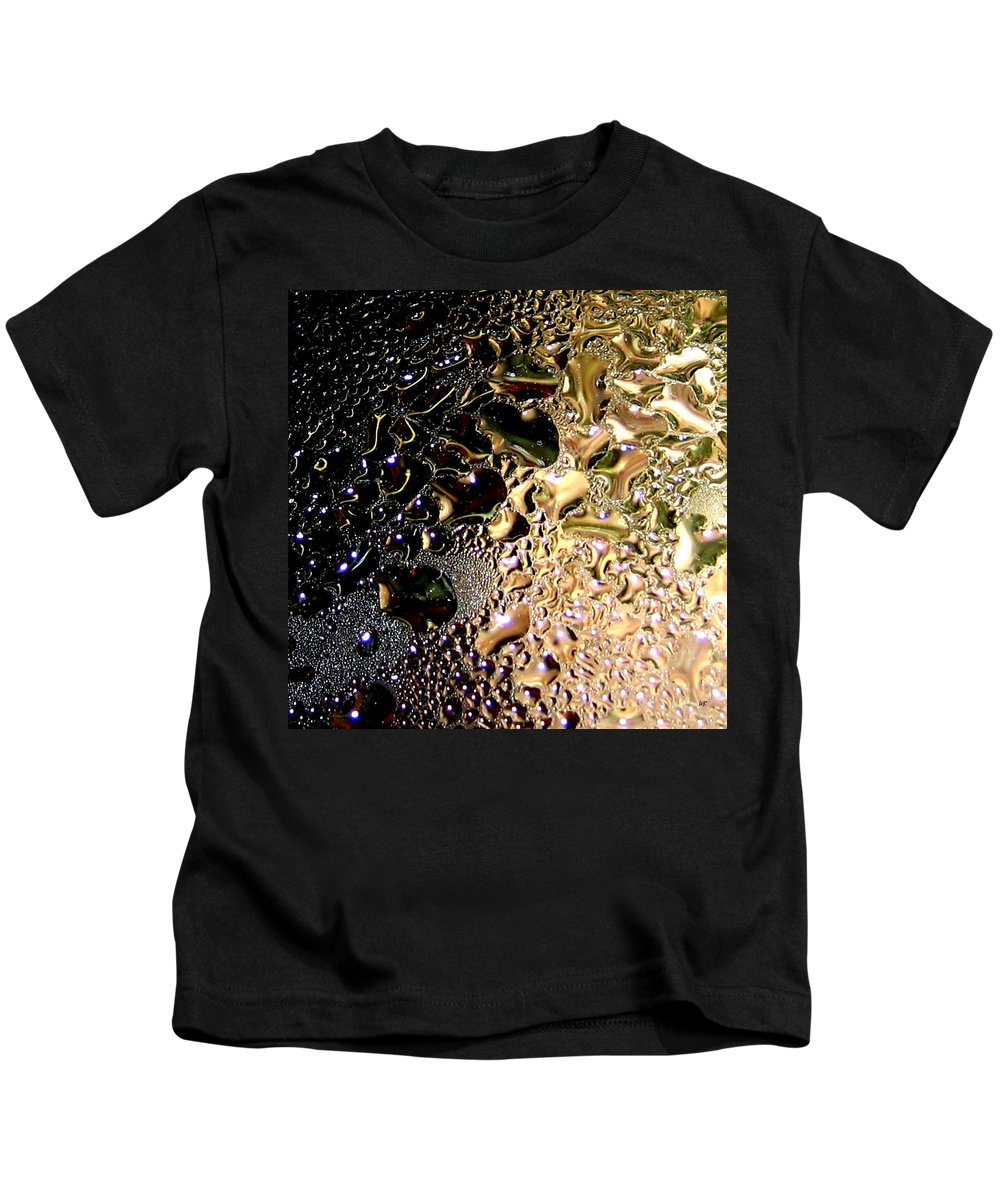 Abstract Kids T-Shirt featuring the digital art Synthesis by Will Borden