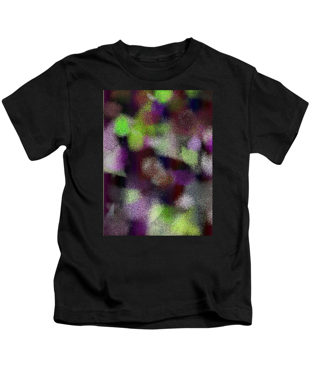 Abstract Kids T-Shirt featuring the digital art T.1.1288.81.3x4.3840x5120 by Gareth Lewis