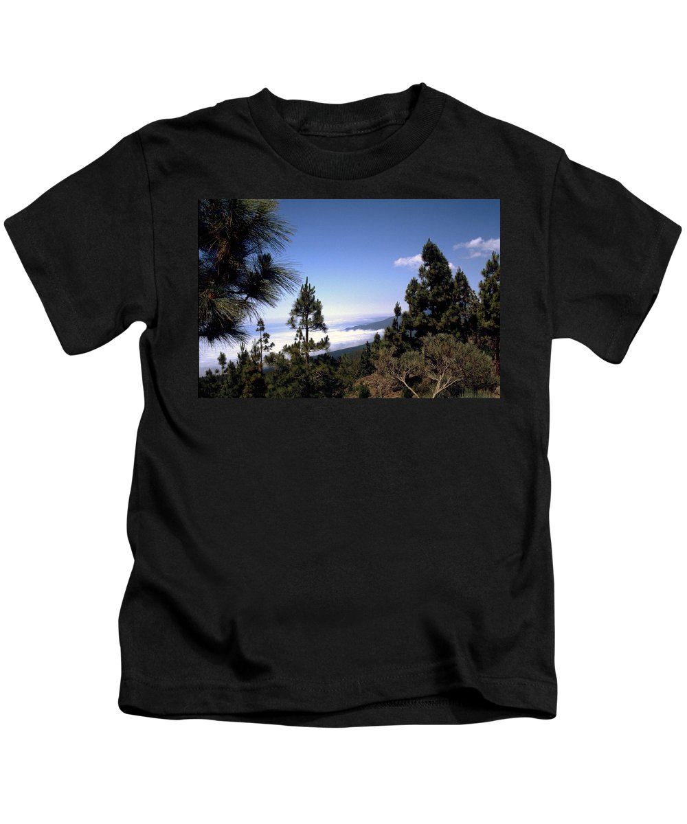 Tenerife Kids T-Shirt featuring the photograph Tenerife by Flavia Westerwelle
