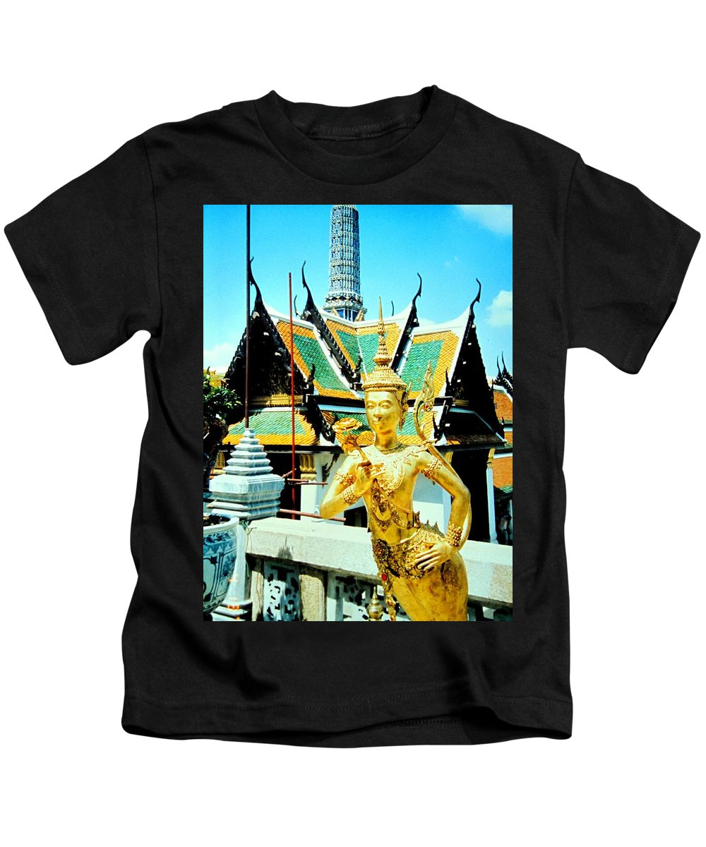 Bangcock Kids T-Shirt featuring the photograph Thailand by Ian MacDonald