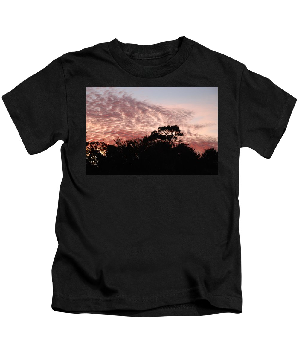 Sky Kids T-Shirt featuring the photograph Thanksgiving Sky by Rob Hans