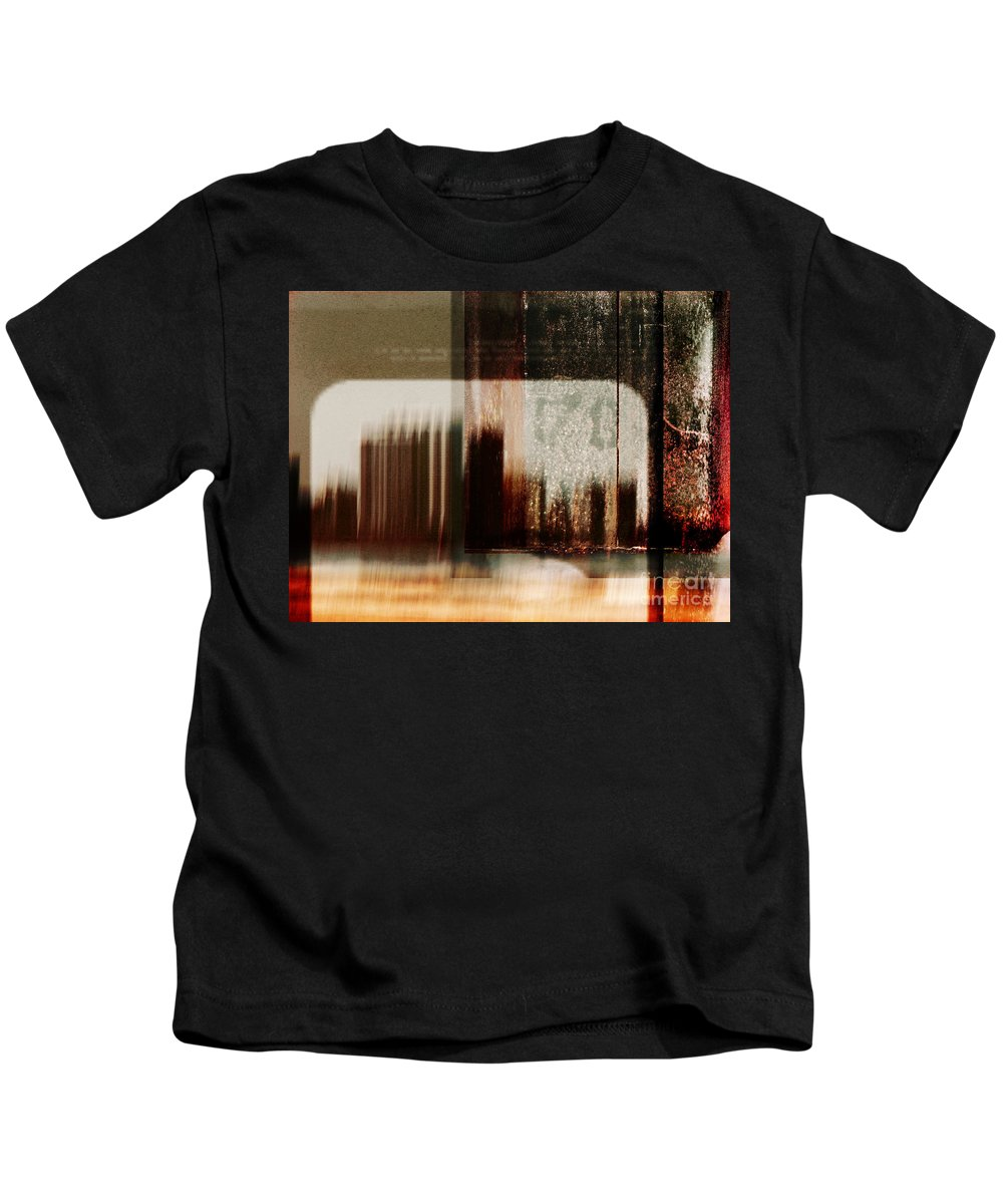 Dipasquale Kids T-Shirt featuring the photograph That Day In The City When We Lost Track Of Time by Dana DiPasquale