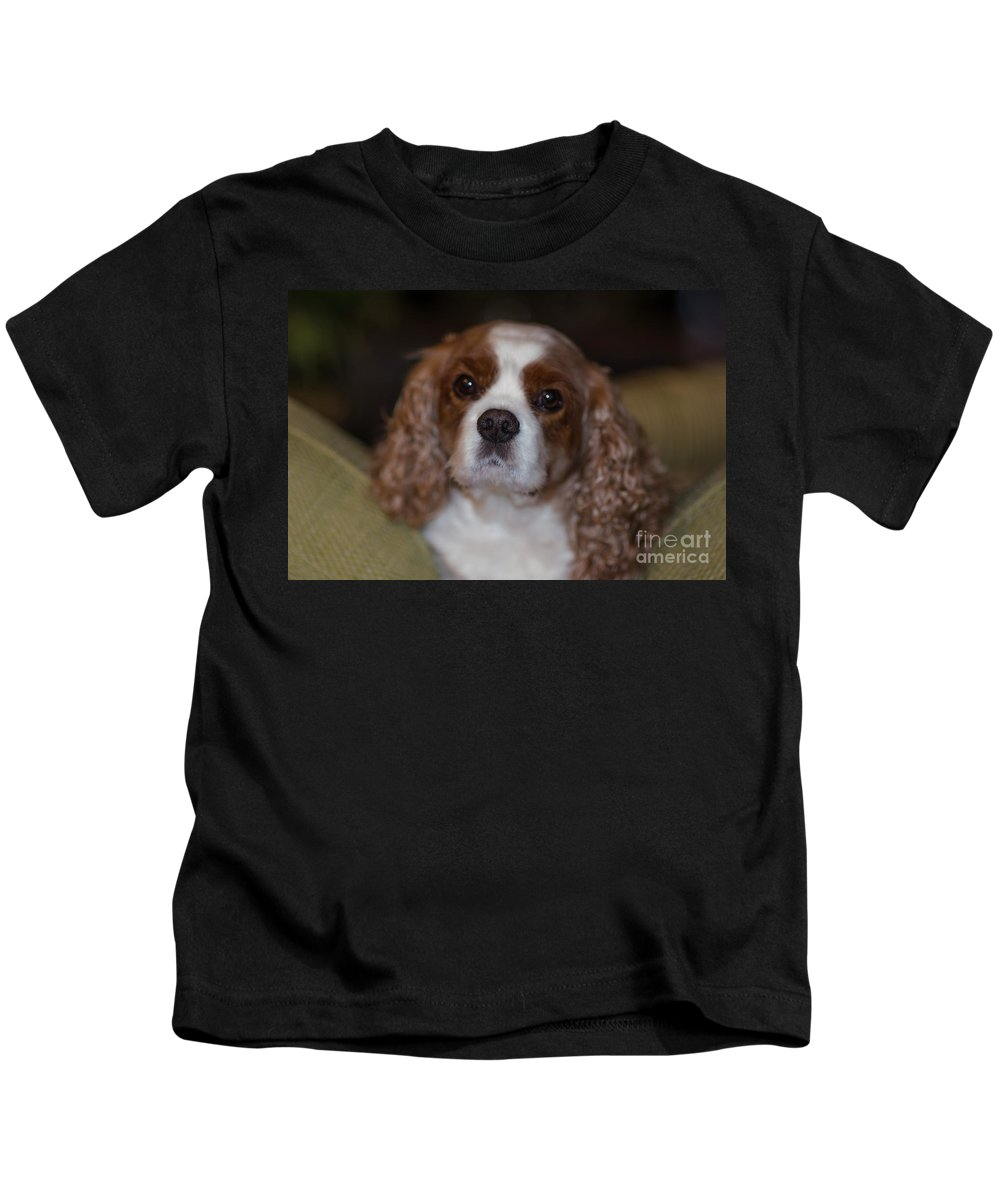 Rivers Kids T-Shirt featuring the photograph That Special Bond by Dale Powell