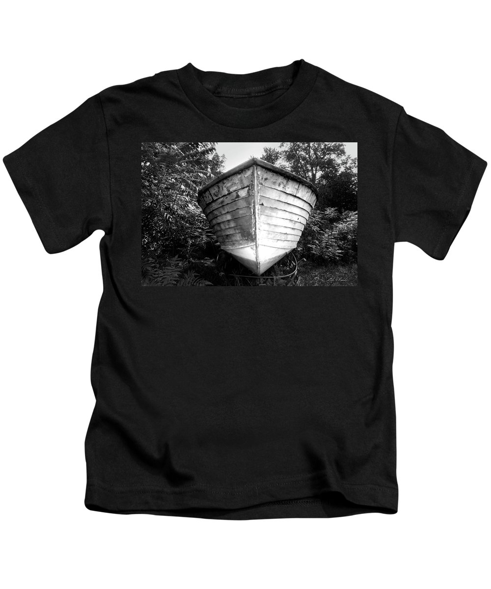 Photography Kids T-Shirt featuring the photograph The Ark by Frederic A Reinecke