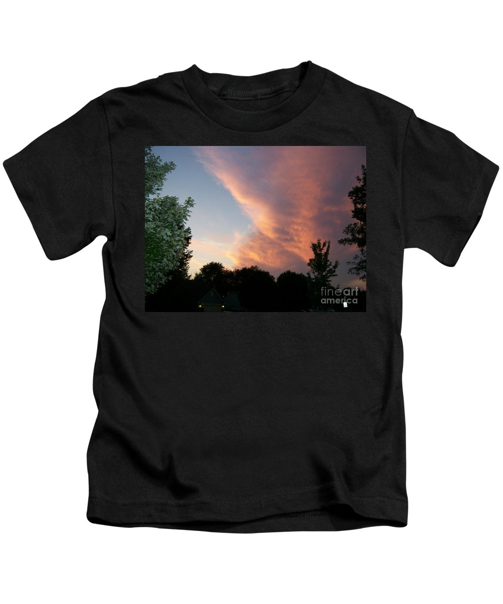Sky Kids T-Shirt featuring the photograph The Blanket by Stephen King