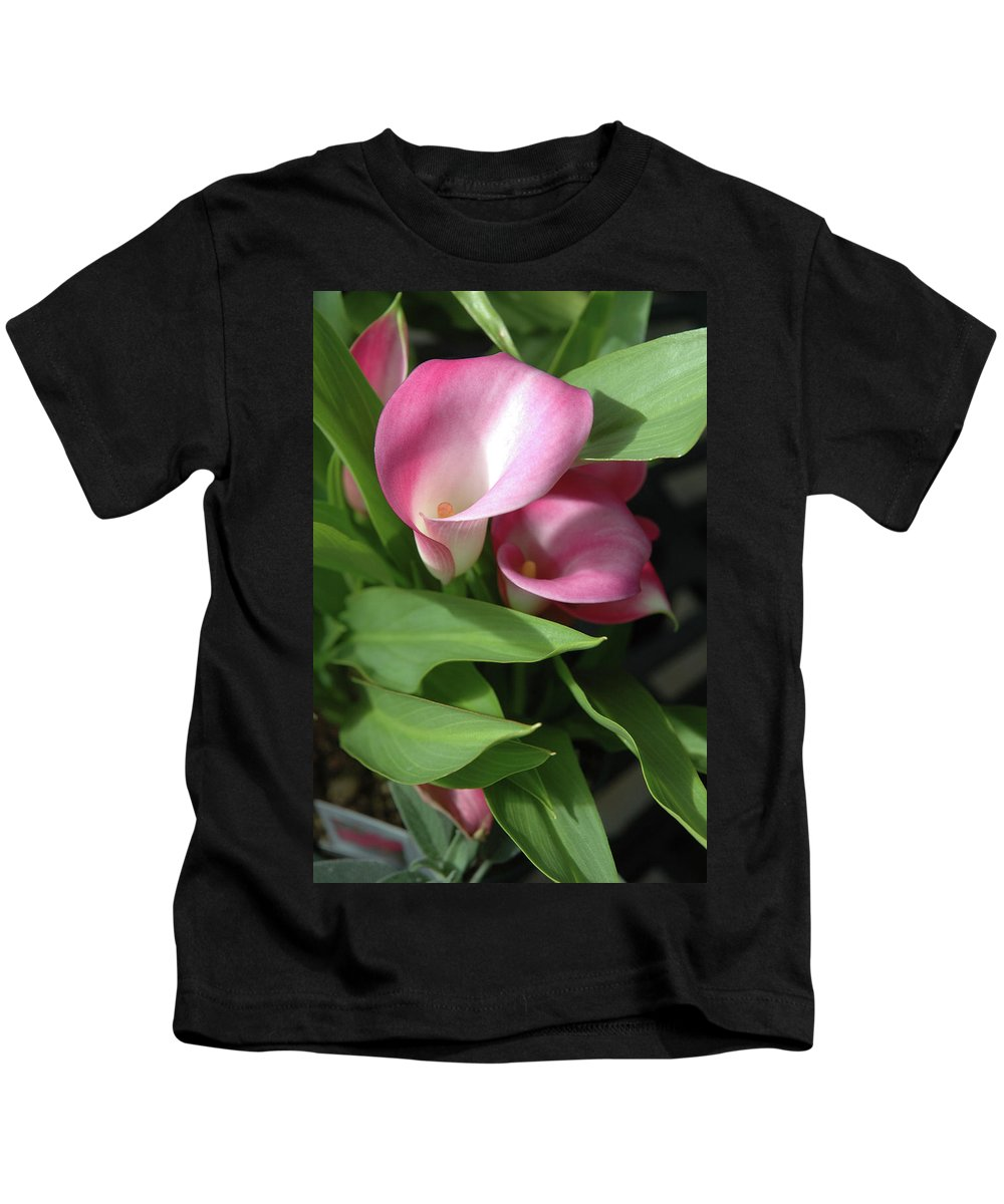 Calla Kids T-Shirt featuring the photograph The Calla Lily by Jerry McElroy