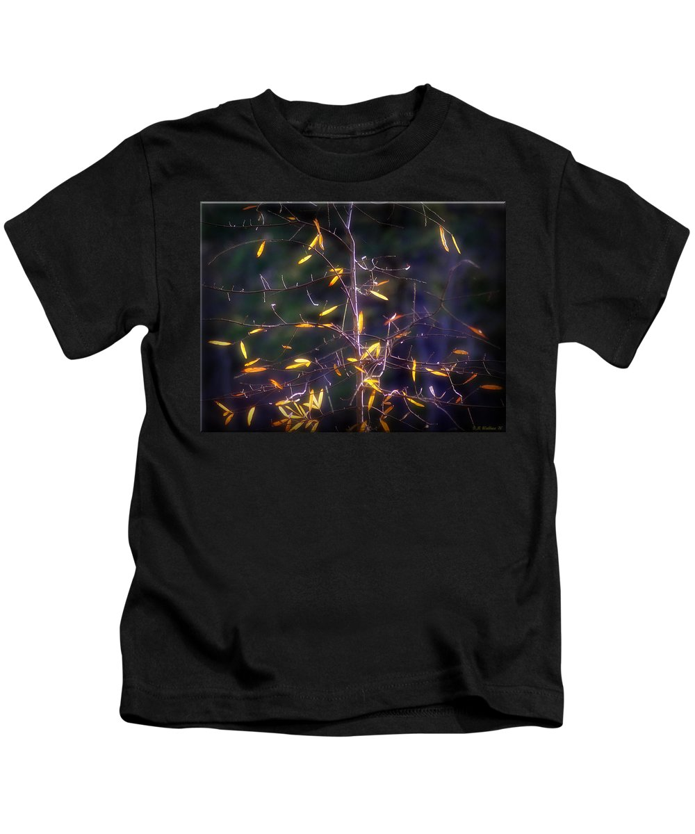 2d Kids T-Shirt featuring the photograph The Consistency Of Change by Brian Wallace
