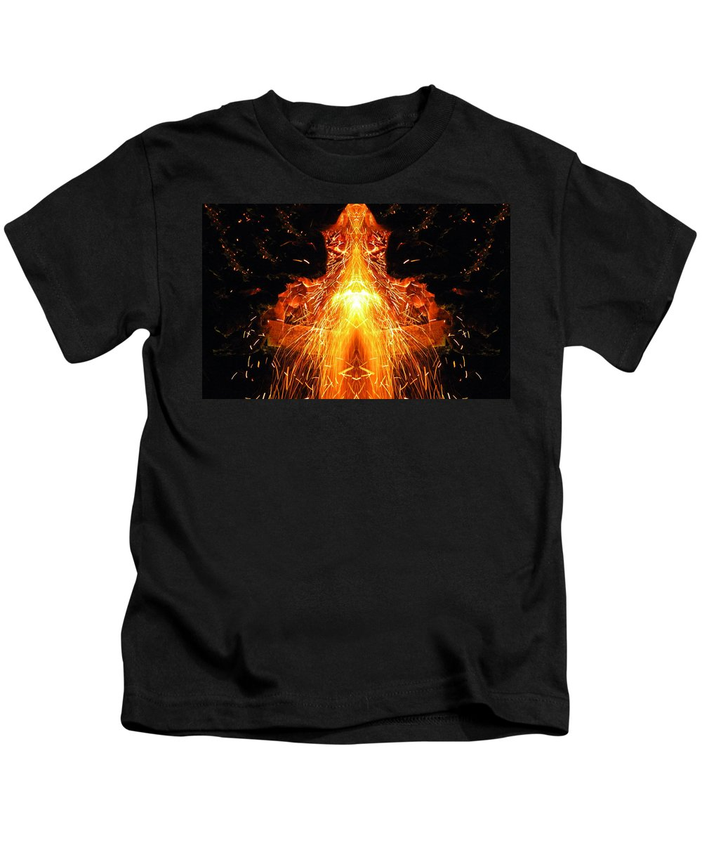 Photo Kids T-Shirt featuring the photograph The Creation by Munir Alawi