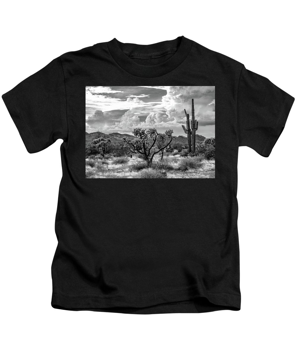 Desert Kids T-Shirt featuring the photograph The Desert Speaks by Jack Sassard