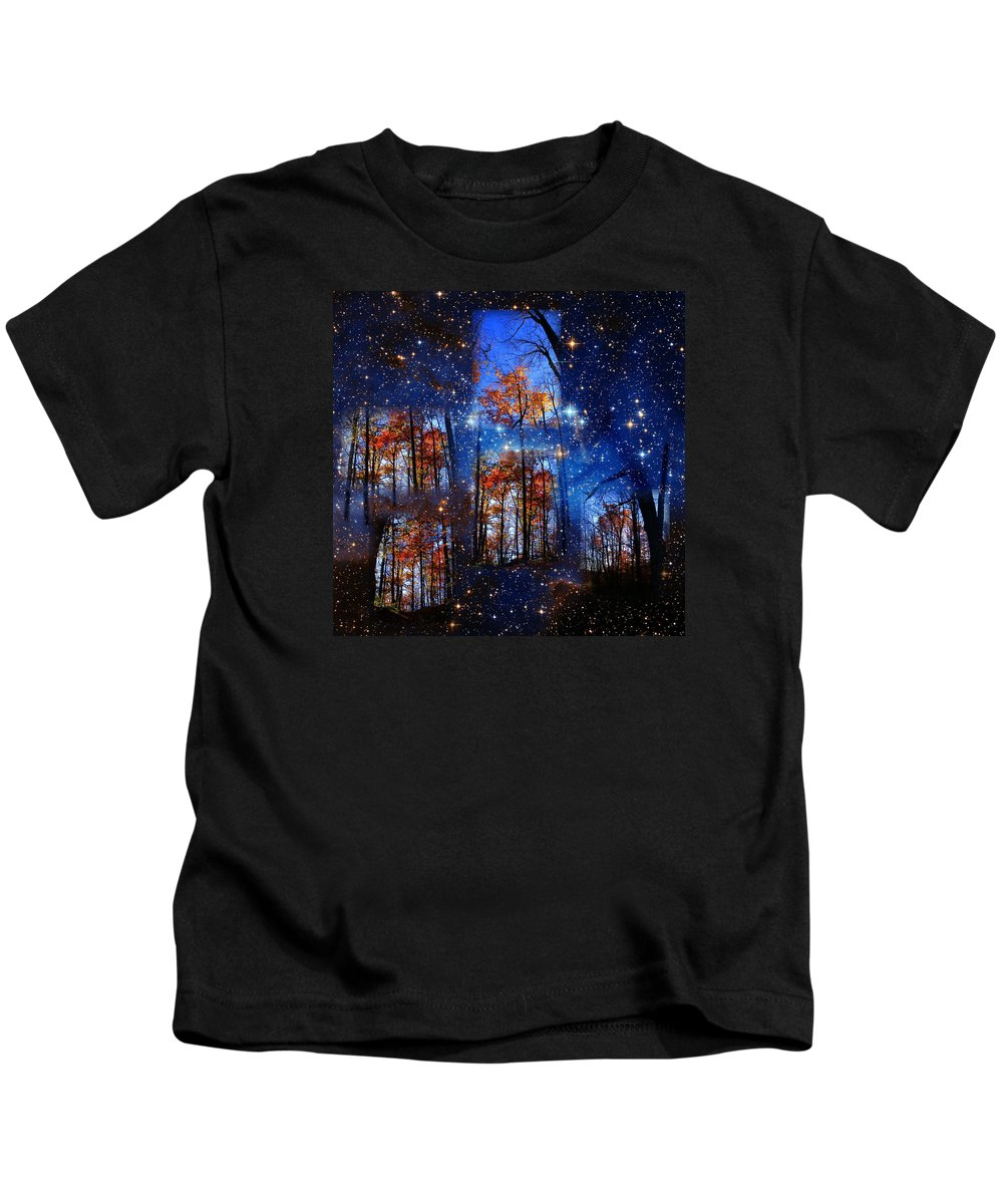 Deep Space Kids T-Shirt featuring the photograph The Face Of Forever by Dave Martsolf