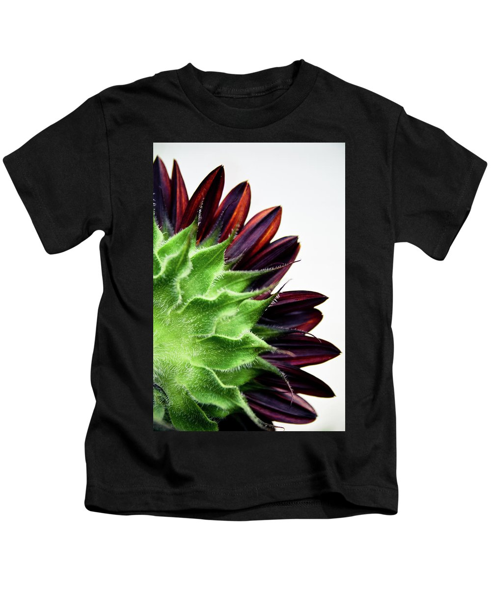 Sunflower Kids T-Shirt featuring the photograph The Flipside by Mandy Willis