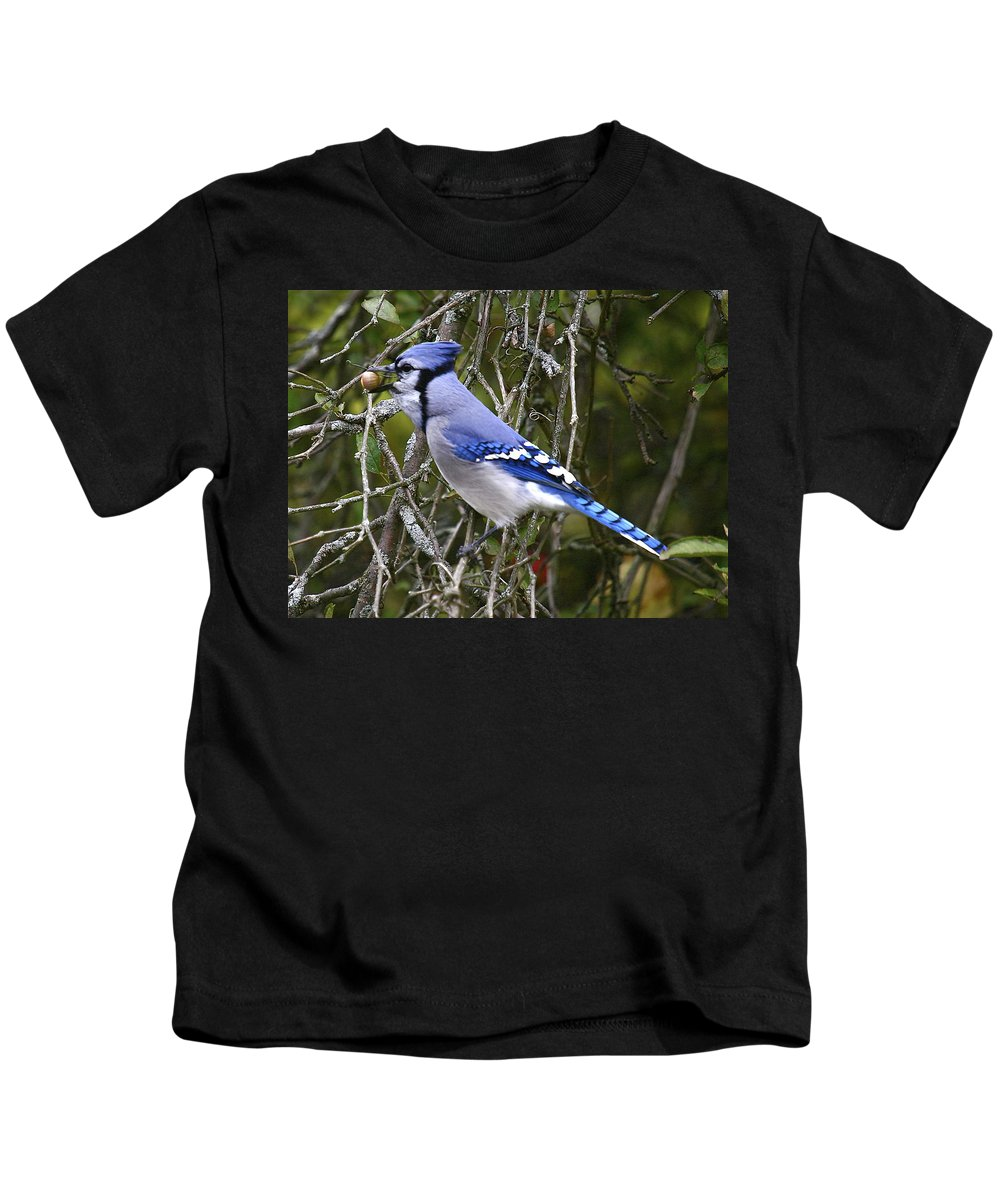 Bird Kids T-Shirt featuring the photograph The Gathering by Robert Pearson