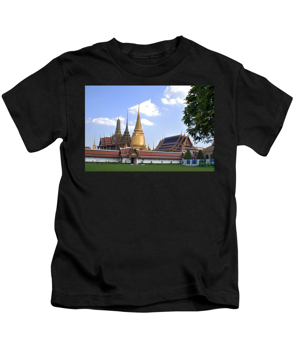Grand Palace Kids T-Shirt featuring the photograph The Grand Palace by John Hughes