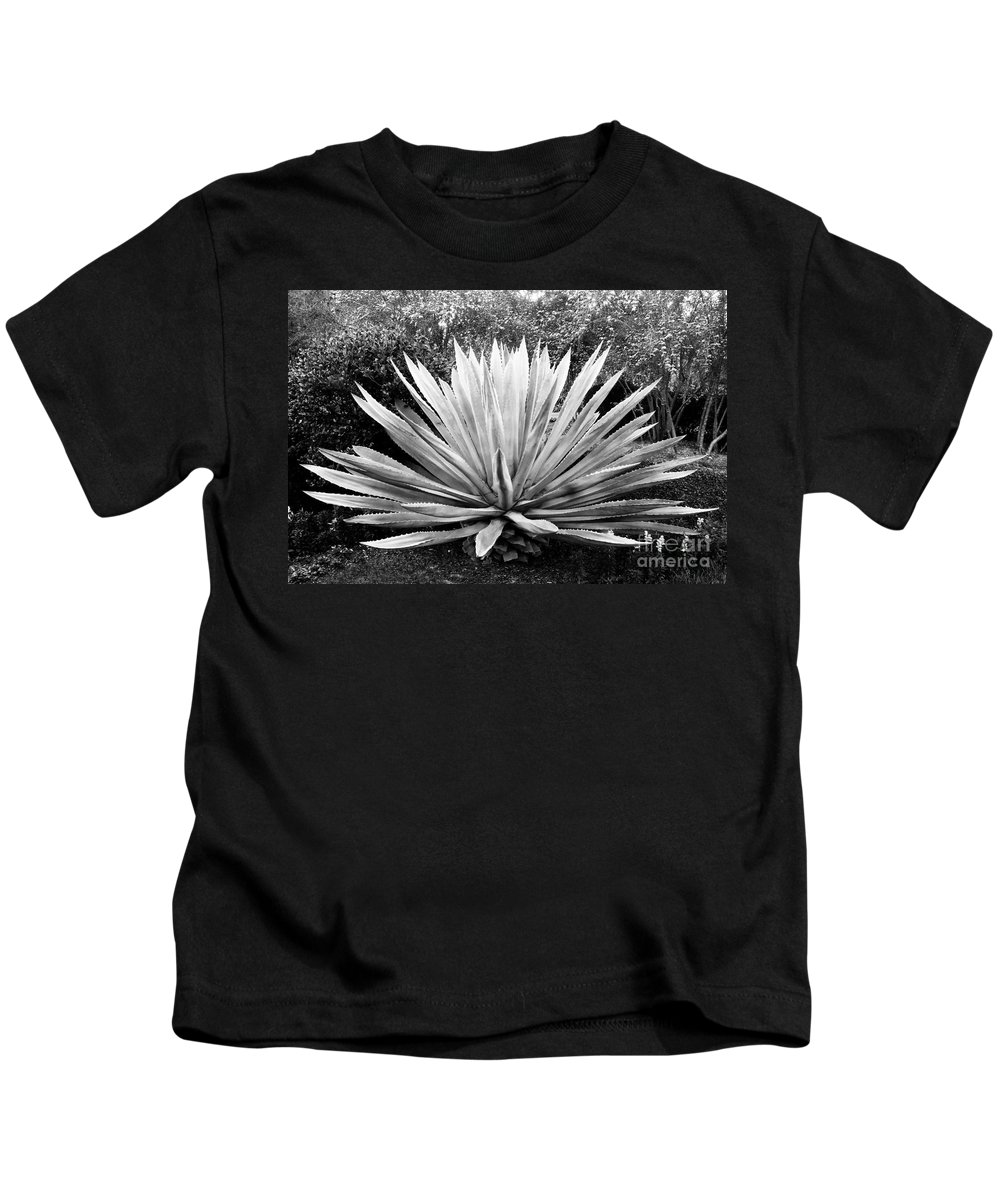 Agave Kids T-Shirt featuring the photograph The Great Agave by David Lee Thompson
