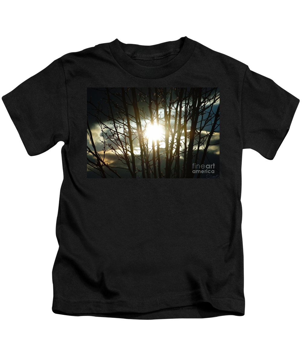 Sun Kids T-Shirt featuring the photograph The In Between by September Stone