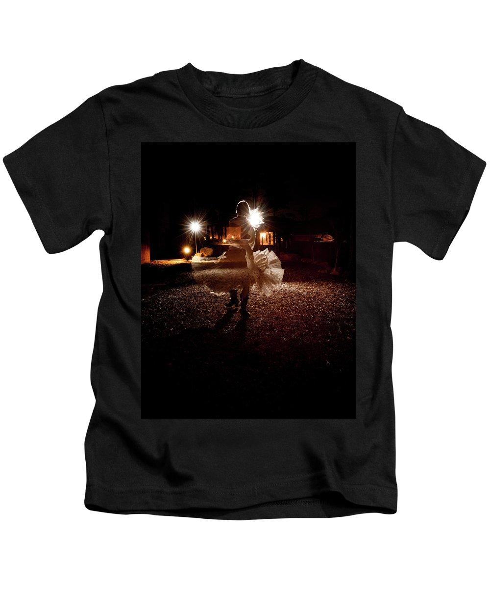 Dance Kids T-Shirt featuring the photograph The Last Dance by Scott Sawyer