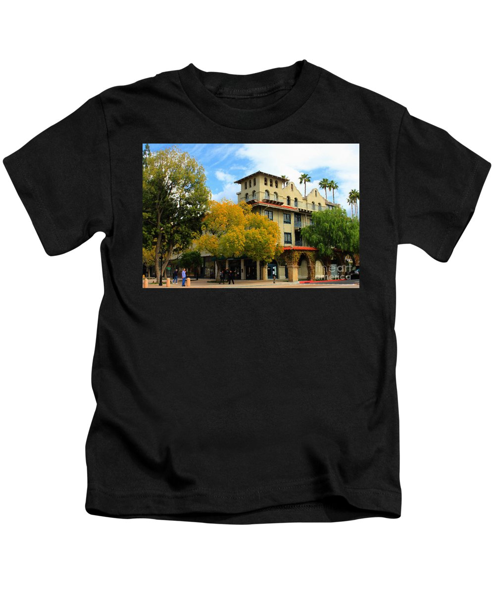 Adobe Kids T-Shirt featuring the photograph The Mission by James Eddy