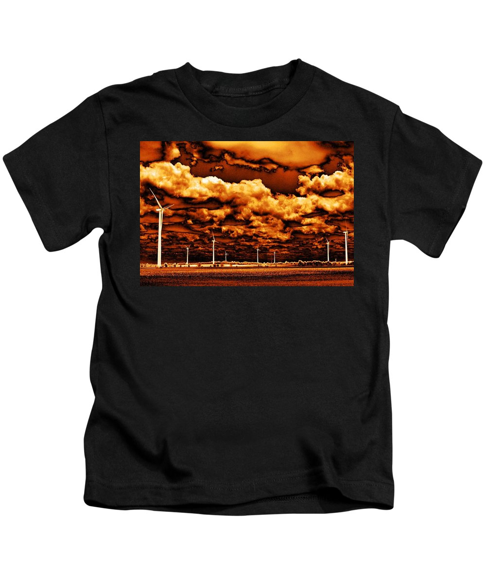 Sky Kids T-Shirt featuring the photograph The New Trees by Ed Smith