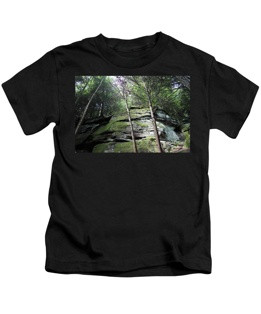 Nature Kids T-Shirt featuring the photograph The Original My Space by Amanda Barcon