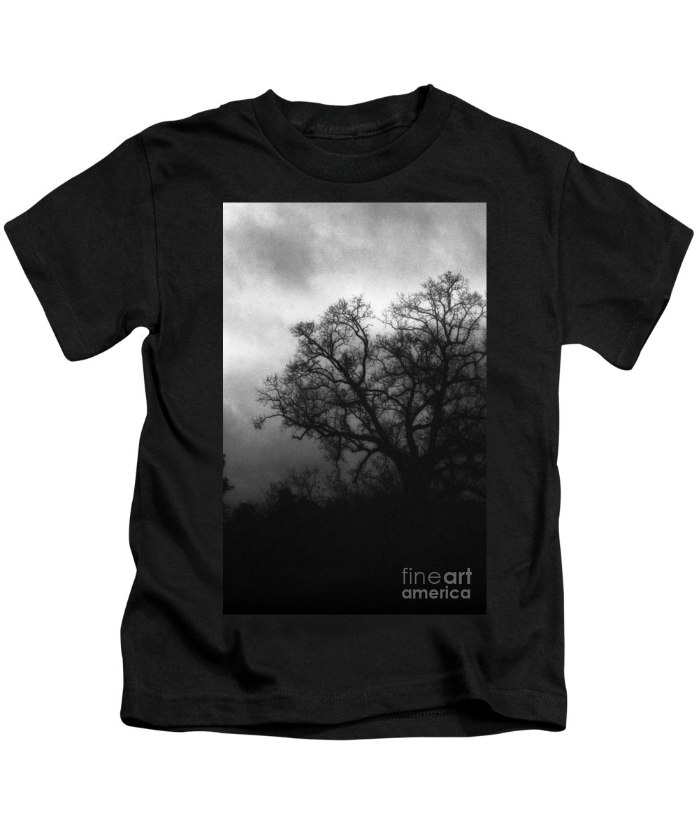 Eerie Kids T-Shirt featuring the photograph The Other Side by Richard Rizzo