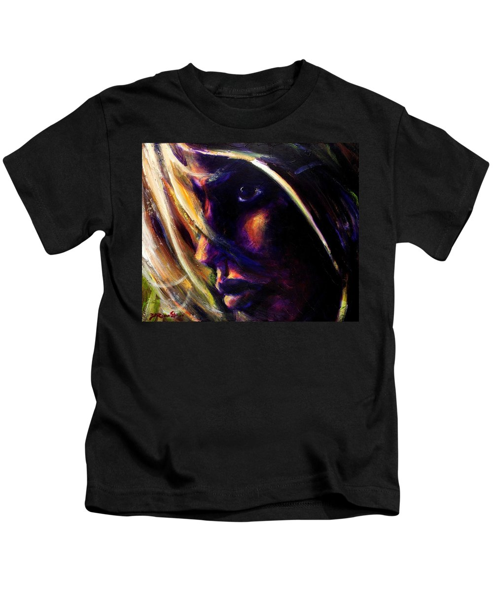 Acrylic Kids T-Shirt featuring the painting The Past Is Gone by Jason Reinhardt