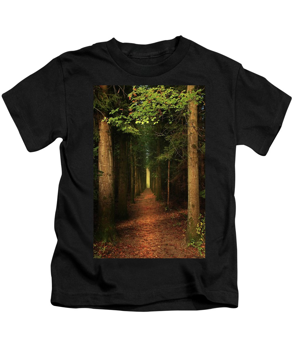 Kids T-Shirt featuring the photograph The Pathway by Rob Blair