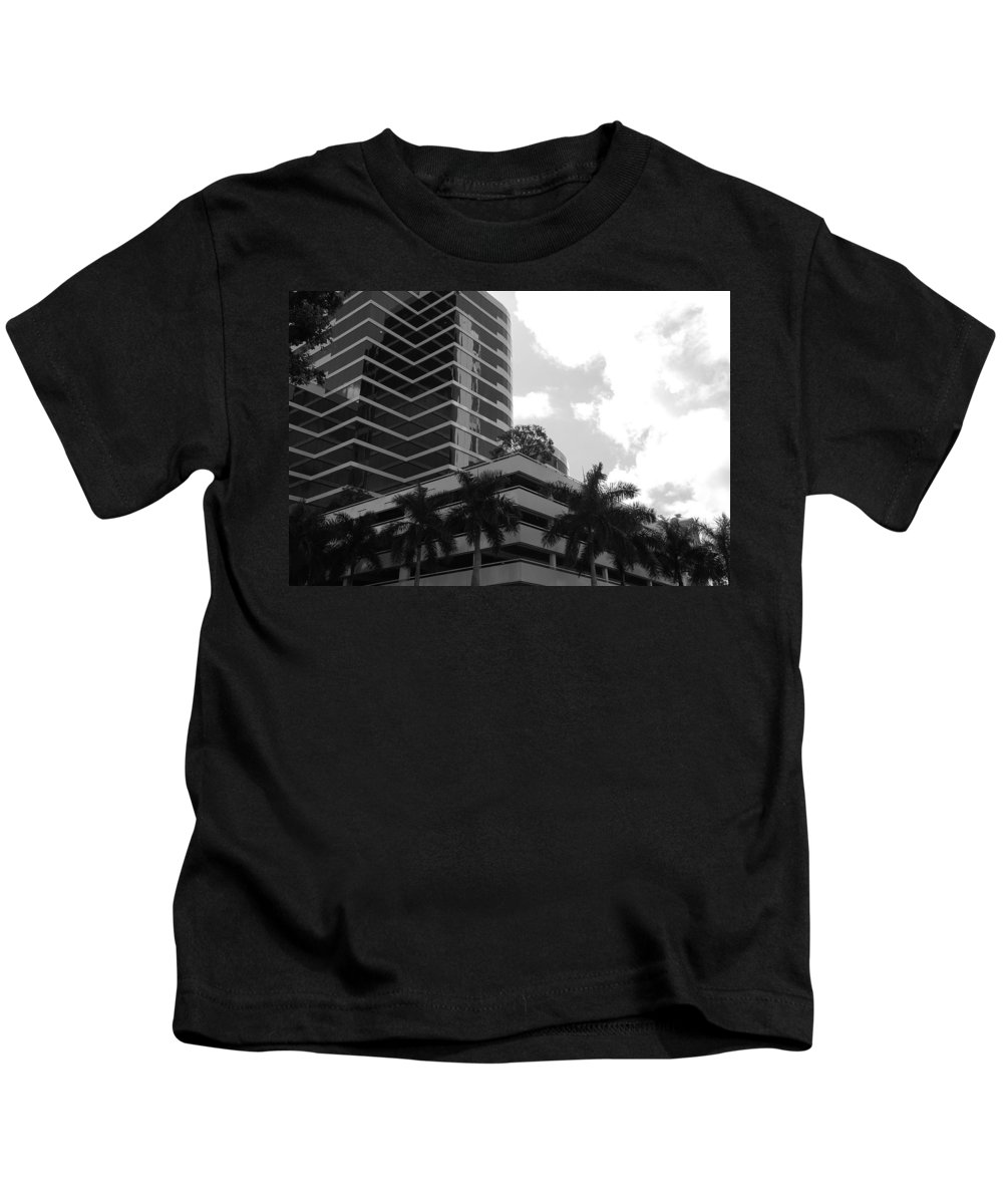 Architecture Kids T-Shirt featuring the photograph The Place To Be by Rob Hans