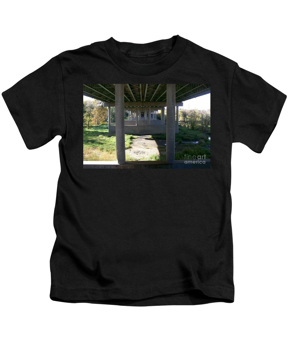 Landscape Kids T-Shirt featuring the photograph The Portal by Stephen King