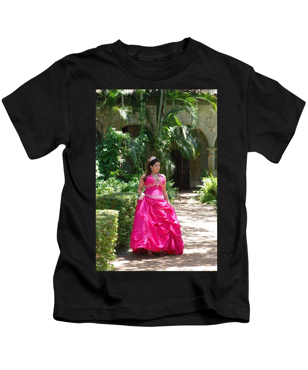 Girl Kids T-Shirt featuring the photograph The Princess by Rob Hans