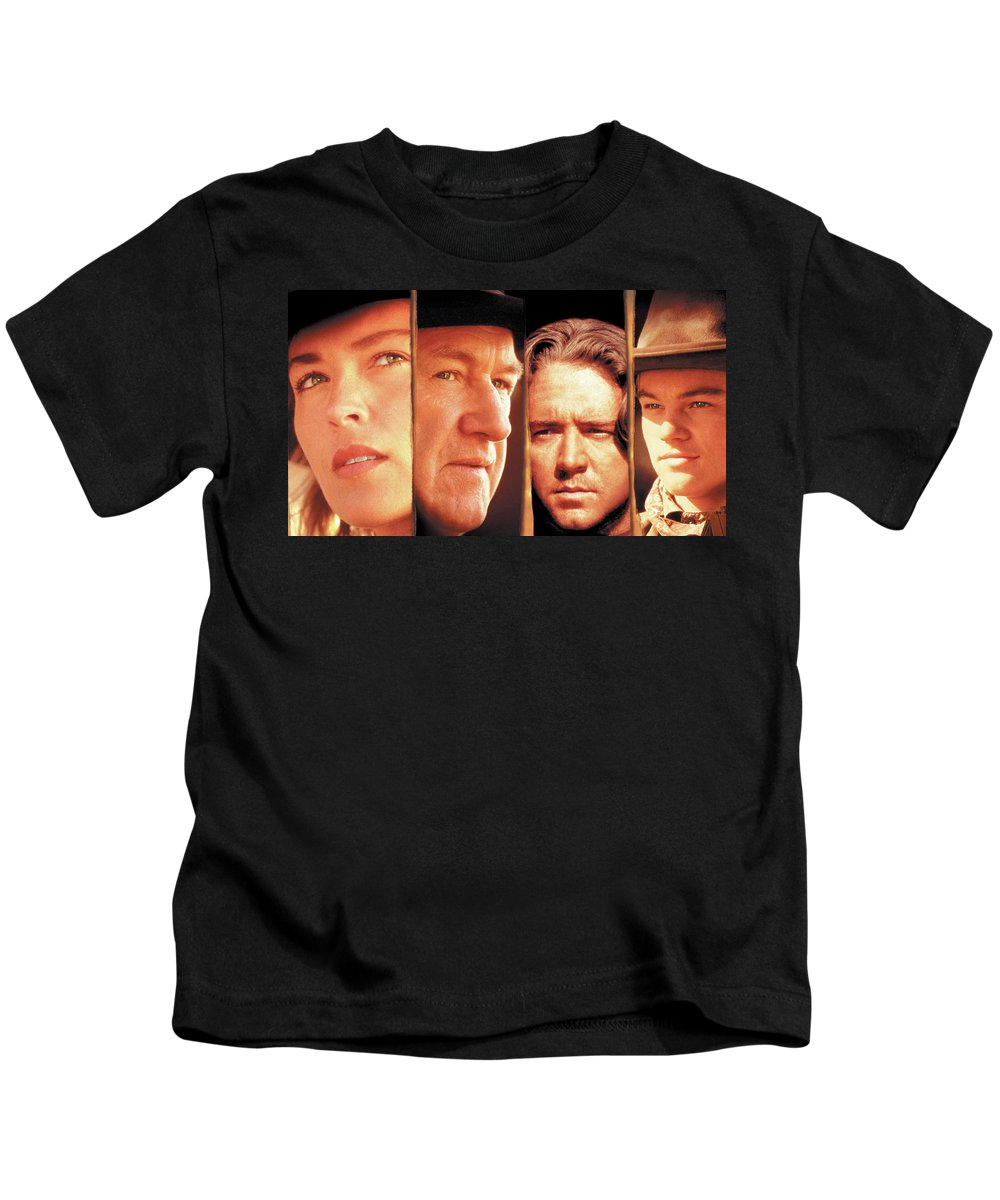 The Quick And The Dead Kids T-Shirt featuring the digital art The Quick And The Dead by Dorothy Binder