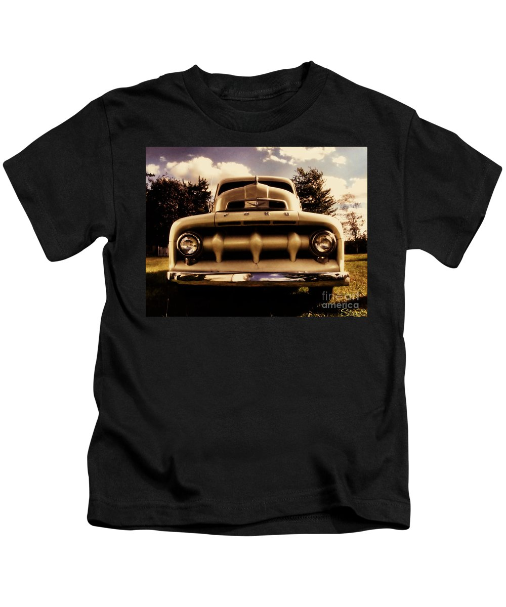 Classic Kids T-Shirt featuring the photograph The Rizzo Effect Three by September Stone