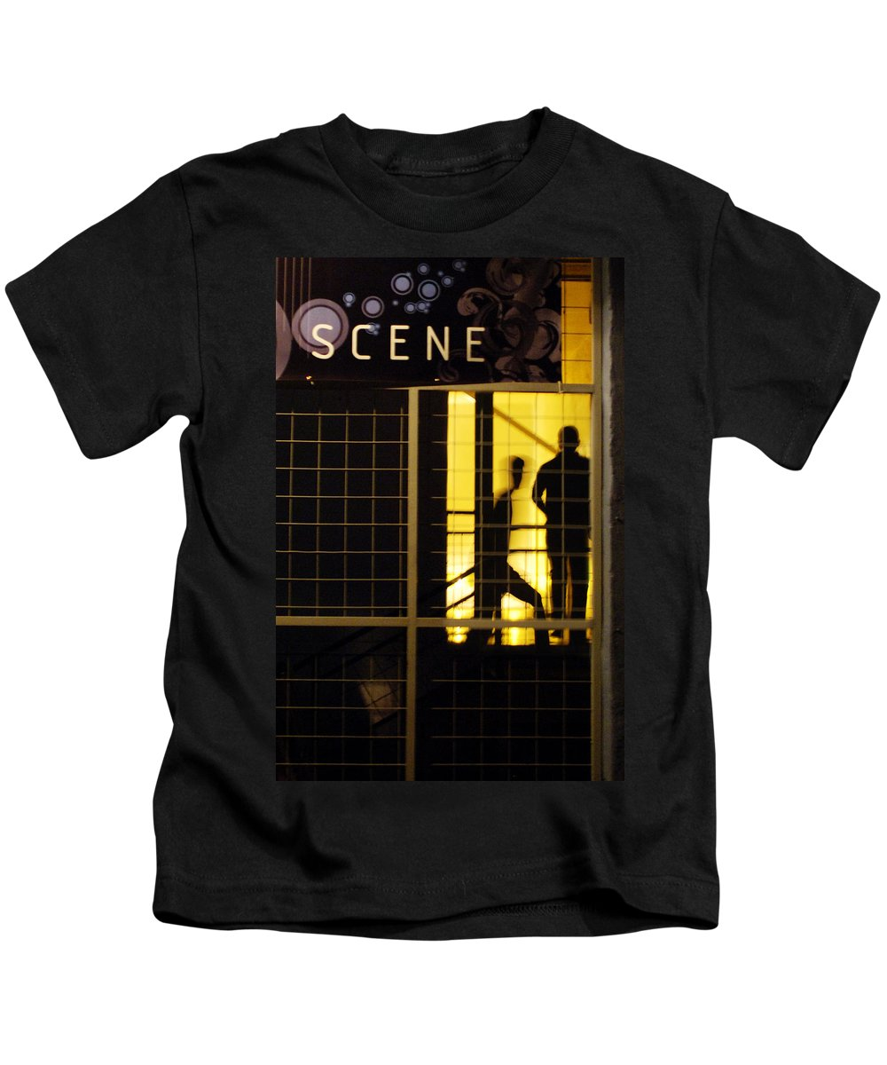 San Antonio Kids T-Shirt featuring the photograph The Scene San Antonio by Jill Reger