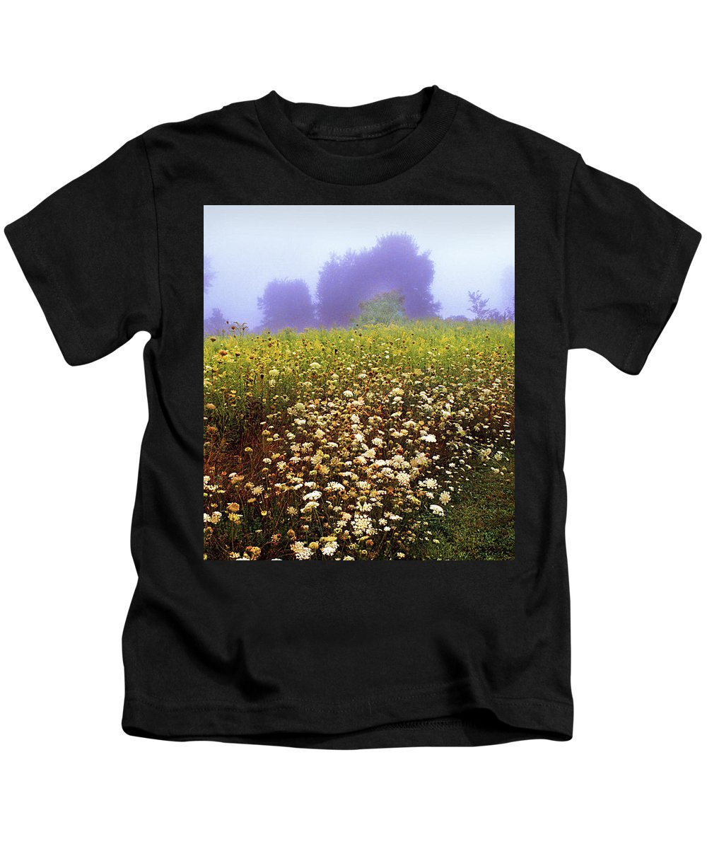 New York State Kids T-Shirt featuring the photograph The Secret Garden by Yuri Lev