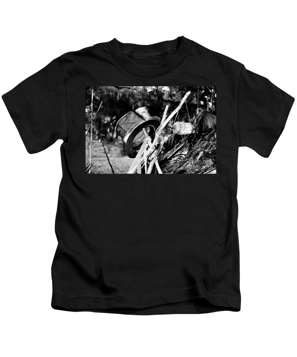 Shaman Kids T-Shirt featuring the photograph The Shaman's Hat by David Lee Thompson