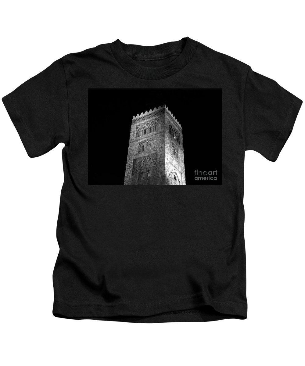 Tower Kids T-Shirt featuring the photograph The Tower by David Lee Thompson