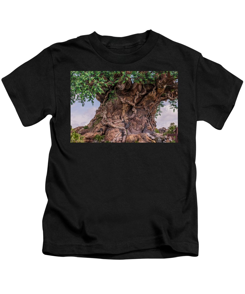 Tree Of Life Kids T-Shirt featuring the photograph The Tree Of Life Close by Zina Stromberg